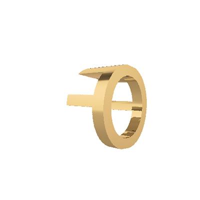 O letter pendants