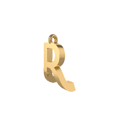 gold pendant designs with alphabets