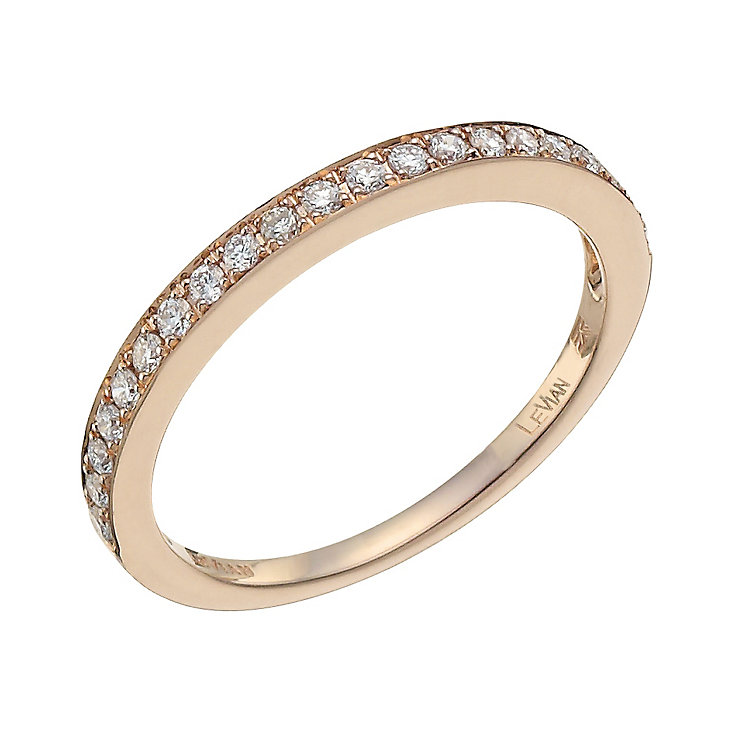 Classic Rose Gold Diamond Ring1