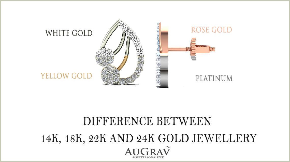 Difference Between 14k 18k 22k And 24k Gold Jewellery