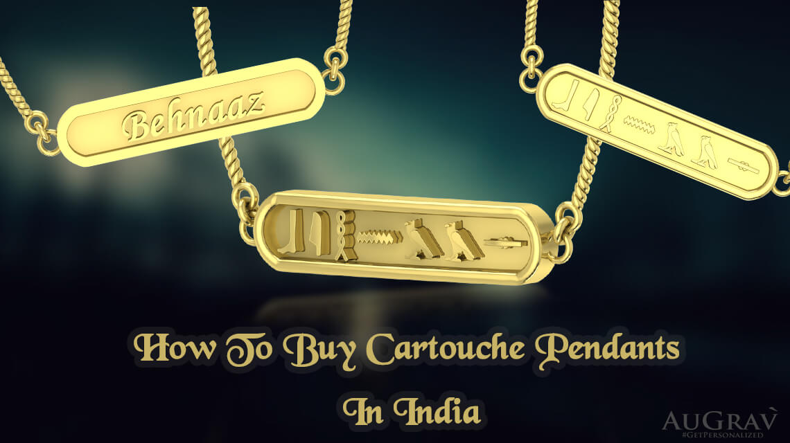 How To Buy Cartouche Pendants(Gold) In India