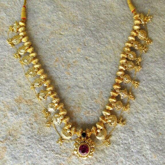 Maharastrian Mangalsutra designs