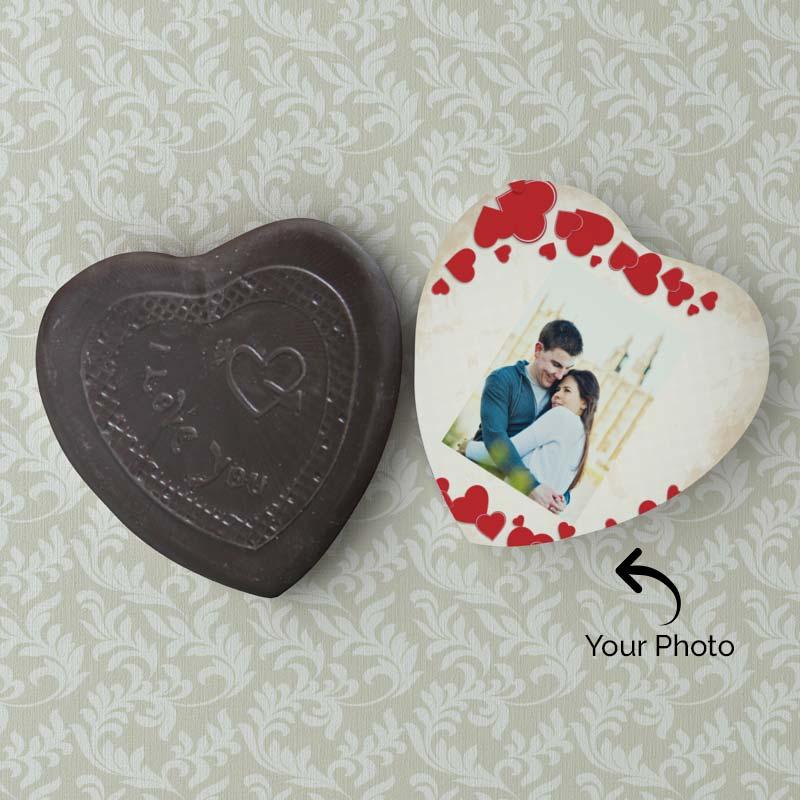 Personalized photo chocolate