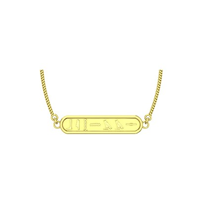 egyptian gold cartouche pendants which one of the traditional jewellery with your name