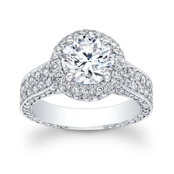 Platinum Diamond Ring for women