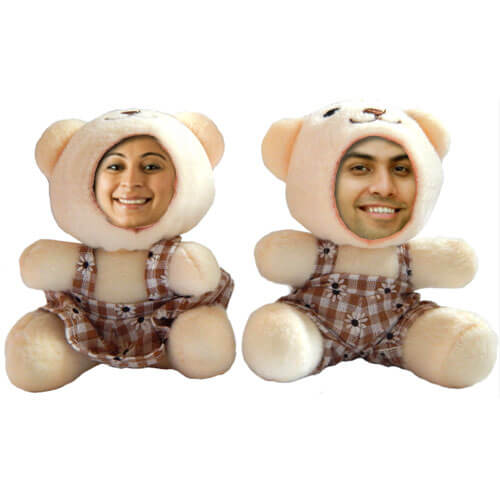 couple soft personalized dolls