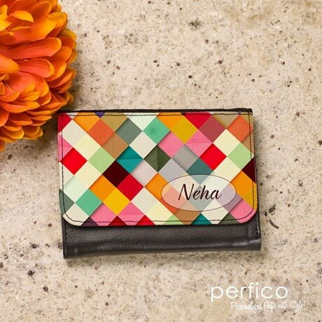 personalized ladies wallet