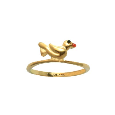 latest gold rings for girls