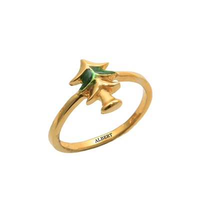 boys gold ring