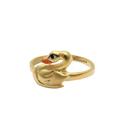 gold rings for girls designs