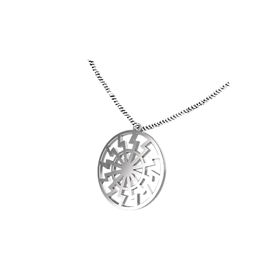 deathly hallows symbol necklace
