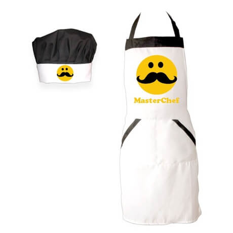 Moustache Personalized Apron