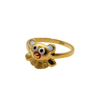 Toy Ring For Kids In Gold AuGrav