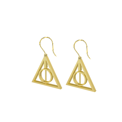 deathly hallows symbol jewelry