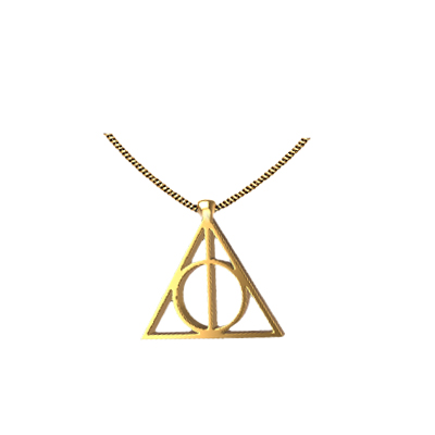 deathly hallows symbol jewelry