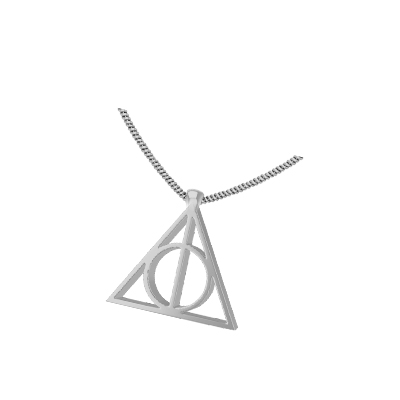the deathly hallows pendant