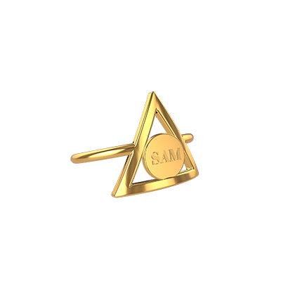 harry potter gold jewelry