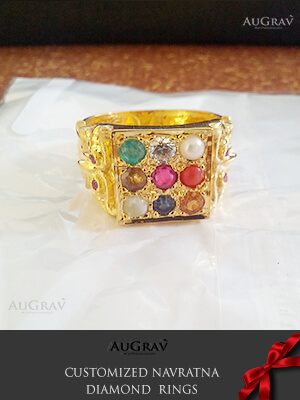 Navaranta Stone Yellow Gold Ring