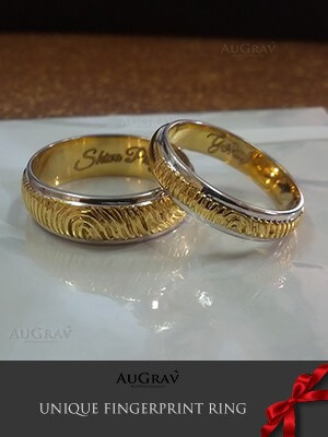 Wedding Rings With Name Written