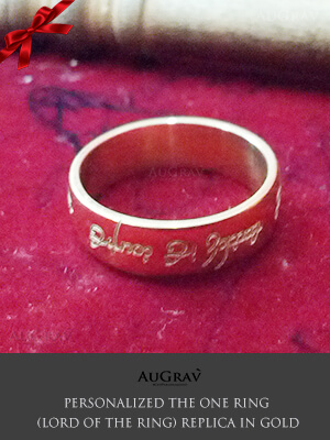 Elvish Wedding Ring, Lord of the ring style engagement Ring