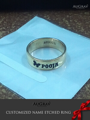 Name Rings For Couples, Couple Name Rings For Anniversary