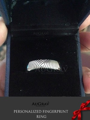 Fingerprint Engraved Pendant making
