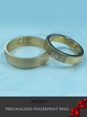 Message Inside Engraved Ring