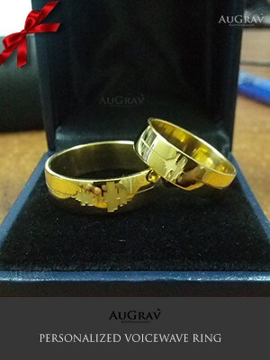 Personalized Voice Engraved Ring