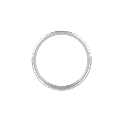 Barcode Engraved Silver Ring (3)