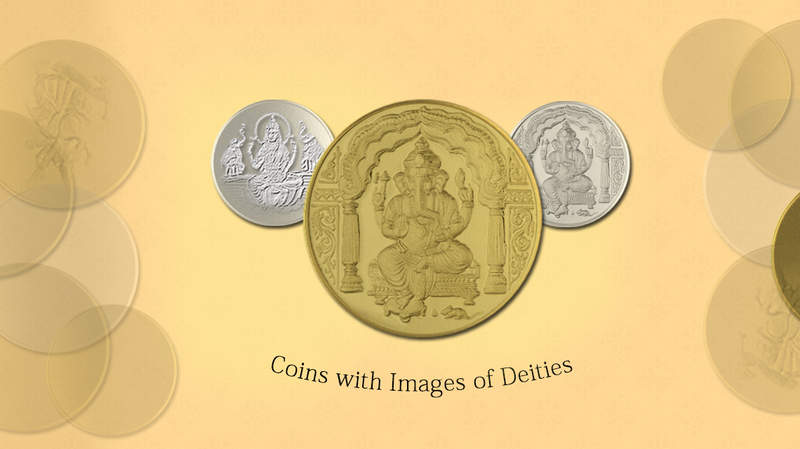Coins with Images of Deities
