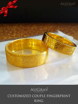 Customized Ring with Inside and Outside Engraving