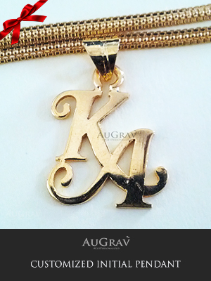 Initial A Pendants For Kids