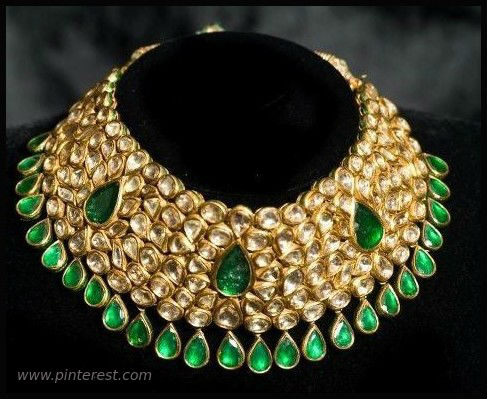 #gold kundan set designs #south kundan jewellery #big kundan necklace #rajasthani kundan jewellery design