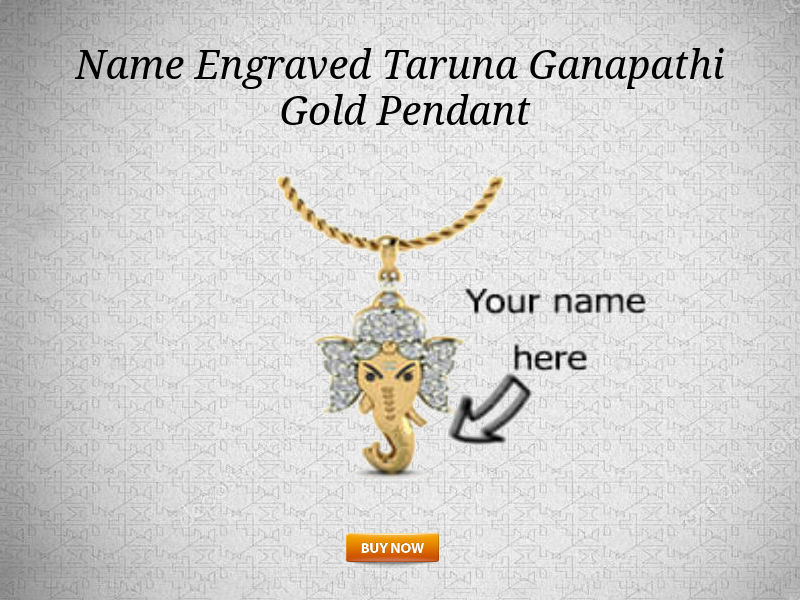 Buy the Taruna ganapathi pendant, Shree Taruna Ganpati Diamond Pendant Manufacturers, Yellow Gold Ganesha Pendant Designs, Taruna ganapathi lord of people pendant, Diamond Taruna ganesha pendant with chain, Designer Taruna ganapathi pendant, Buy Taruna ganesha Golden Pendant,