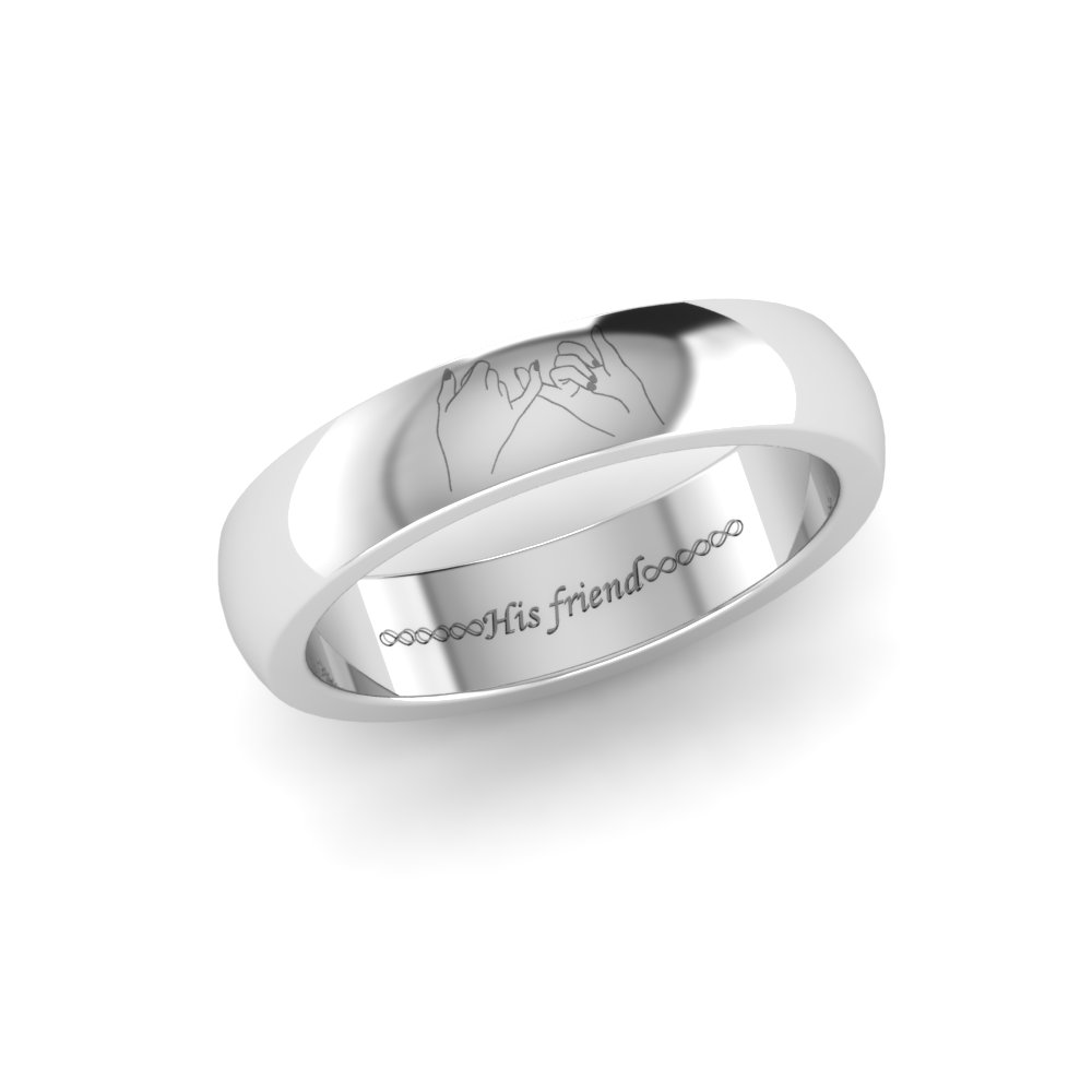 Engraved Engagement Bands Hand Engraved Engagement And Wedding