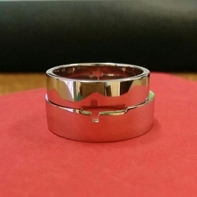 Customized See Through Cross Platinum Ring (3).jpg