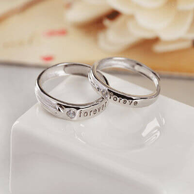 fa03e159a5 silver ring online shopping india, silver couple rings in grt with price,  pure silver