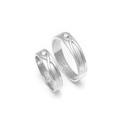 Designer Eternity Couples Platinum Rings (4)
