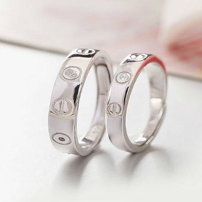 Lovers Matching Heart Couple Rings (3)