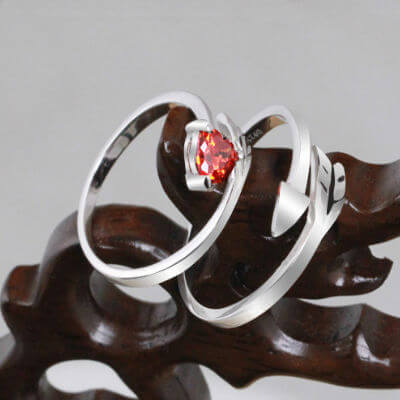 silver thumb rings, silver wedding rings for her, 92.5 silver ring