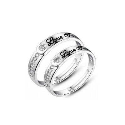 f2c8e1e7ea silver rings for couples with names, sterling silver couple ring, sterling  silver promise rings