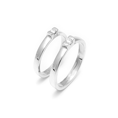 Platinum Love Bands For Him And Her, platinum wedding bands for women