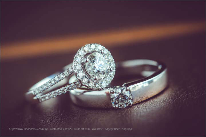Platinum-Twosome-engagement-rings