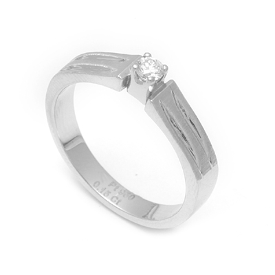 Brilliant Cut Diamond Platinum Men Ring, platinum diamond wedding rings