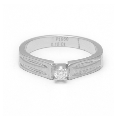 Brilliant Cut Diamond Platinum Men Ring, platinum diamond wedding bands