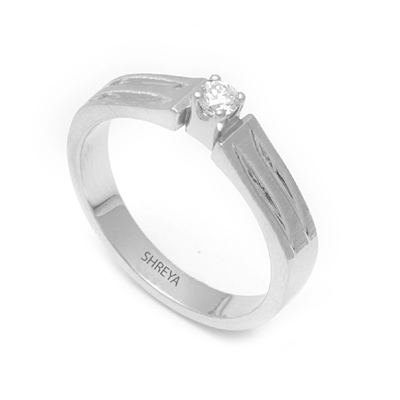 Brilliant Cut Diamond Platinum Men Ring, platinum love bands price