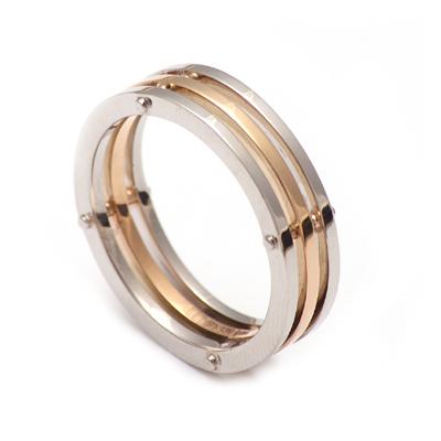 Custom Made Bulgary Platinum Band, platinum rings for men