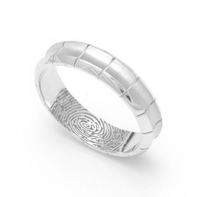 Custom Made Concave Platinum Rings, platinum rings for women price