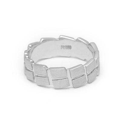 Designer Platinum Men Wedding Ring, platinum love bands for couple