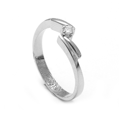 Name Engraved Platinum Ring For Women, platinum earrings